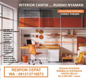 Desain Interior Kitchen Set Minimalis Surabaya 081213718873 Konsultan Desain Interior Arsitek Mebel Furniture Kontraktor Design Build 081213718873